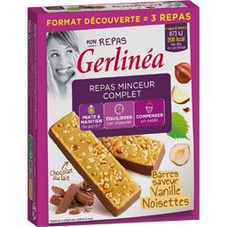 Mon Repas - Barres saveur vanille noisette
