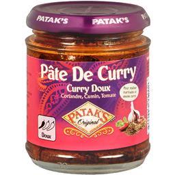 Pâte de curry doux