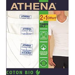 Tee-shirts col V coton BIO taille 3