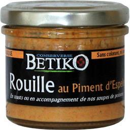 Betiko Les Tartinables - Rouille au piment d'Espelette le pot de 90 g