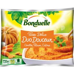 Purée Délice Duo Douceur carottes/potiron