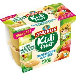 Andros Kidi Fruit - Spécialité de pomme nature
