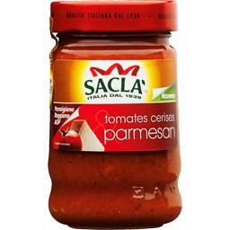 Sauce aux tomates cerises & parmesan