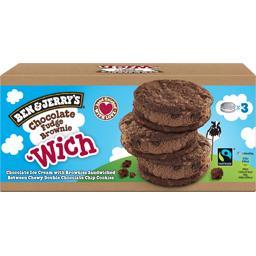 Sandwich Chocolate Fudge Brownie'Wich