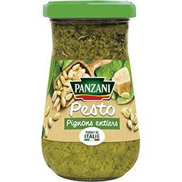 Sauce pesto basilic & pignons entiers