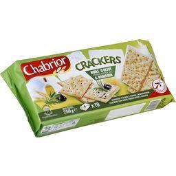 Crackers huile d'olive vierge & romarin