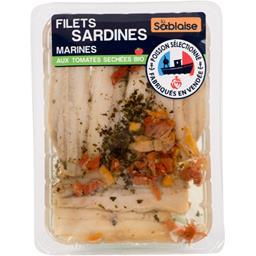 Filets sardines marinés aux tomates séchées BIO