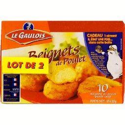 Beignets de poulet x10