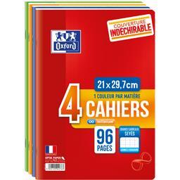 Cahiers Infinium agrafés A4 90 g seyes