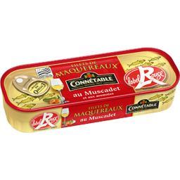 Filets de maquereaux au Muscadet Label Rouge