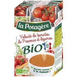La Potagère Velouté de tomates de Provence et légumes BIO la brique de 1 l
