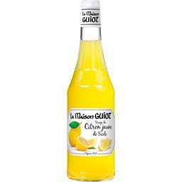 Sirop de citron jaune de Sicile
