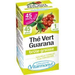 Complément alimentaire brûle-graisse au thé vert guarana