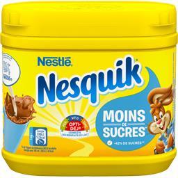Nesquik - Chocolat en poudre moins de sucres