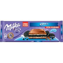 Chocolat extra gourmand fourré Oreo
