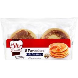 Pancakes au lait frais