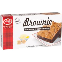 Forchy Brownie pur beurre et sucre de canne le paquet de 170 g