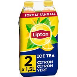 Lipton Ice Tea - Boisson saveur citron citron vert
