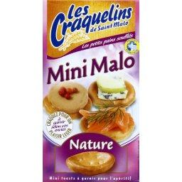 Mini Malo, mini toasts nature à garnir