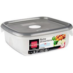 Kitchen - Boite alimentaire carrée 1,1 L avec valve d'air