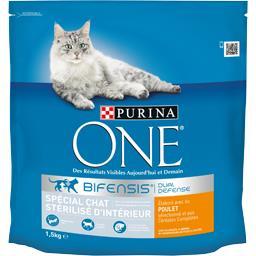 One - Croquettes Bifensis spécial chat stérilisé int...