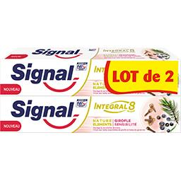 Signal Integral 8 - Dentifrice Nature Eléments girofle sens...