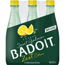 Eau gazeuse Zest Citron