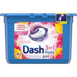 Dash 3en1 - pods - coquelicot et fleurs de cerisier - le...