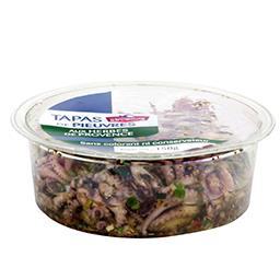 Tapas de pieuvre aux herbes de Provence
