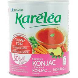 Soupe coupe-faim au konjac + légumes