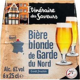 Bière blonde de caractère goût fruité