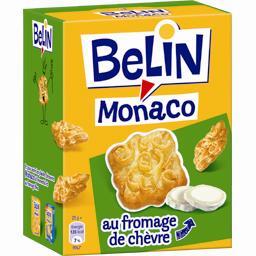 Monaco - Biscuits crackers au fromage de chèvre