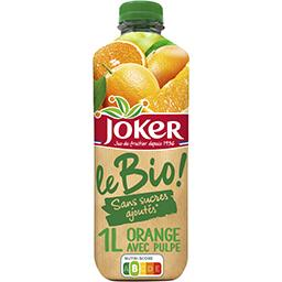 Le BIO - Nectar d'orange avec pulpe BIO