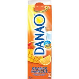 Boisson orange mangue