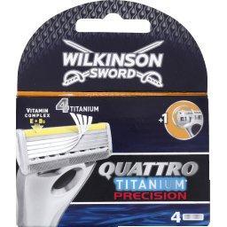 Quattro - Lames de rasoir Titanium Precision