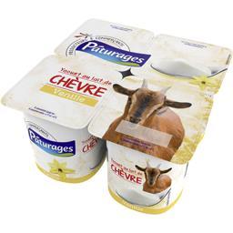 Yaourt chèvre vanille