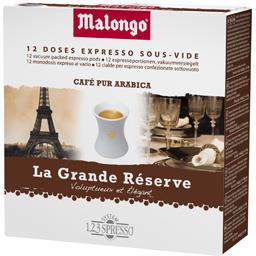 Dosettes de café La Grande Réserve pur arabica