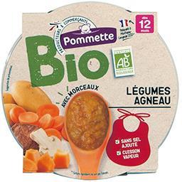 Légumes agneau BIO, dès 12 mois