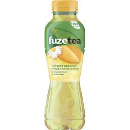 Fuzetea Thé vert mangue & note de camomille la bouteille de 400 ml