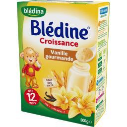 Blédine Croissance - Céréales vanille gourmande, dès...