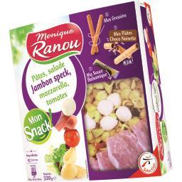 Mon Snack - Pâtes salade jambon speck mozzarella tom...