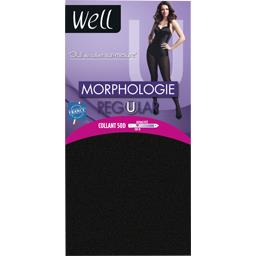 Collant 50 D Morphologie Regular -1m65, noir