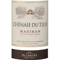 Madiran vin rouge La Chênaie du Tilh - Elevé en fûts de chêne