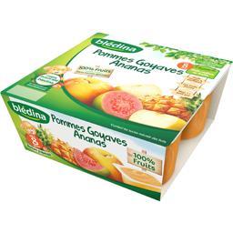 Dessert pommes goyaves ananas, dès 8 mois