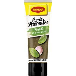 Maggi Purée d'aromates basilic ail & huile d'olive