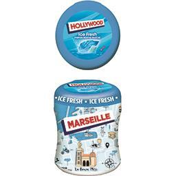 Hollywood Ice Fresh - Chewing-gums parfum menthe fraîche sans ...