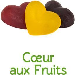 Cœurs aux fruits BIO en VRAC