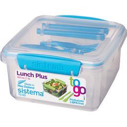 Boite repas Lunch Plus 1,2 l + couverts