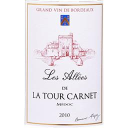 Médoc Les Allés de La Tour Carnet - Second vin Rouge...