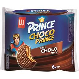 Biscuits Choco Prince goût Choco